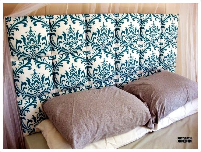 Diy upholstered headboard squares
